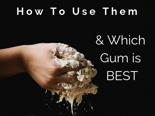 15 Gluten-Free Flours + which Gum is best