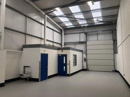 February 2018 - £1m Industrial Units Start