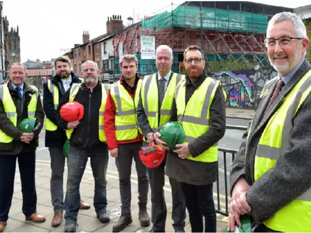 March 2019 – Revitalising First White Cloth Hall