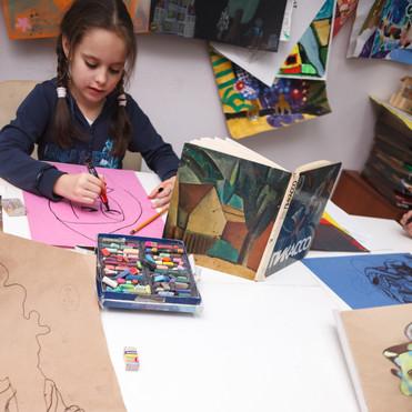 Подготовительное отделение художественной школы7