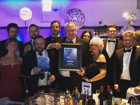 November 2017 - A Great Night at Made in Bury Business Awards 2017