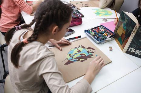 Подготовительное отделение художественной школы2