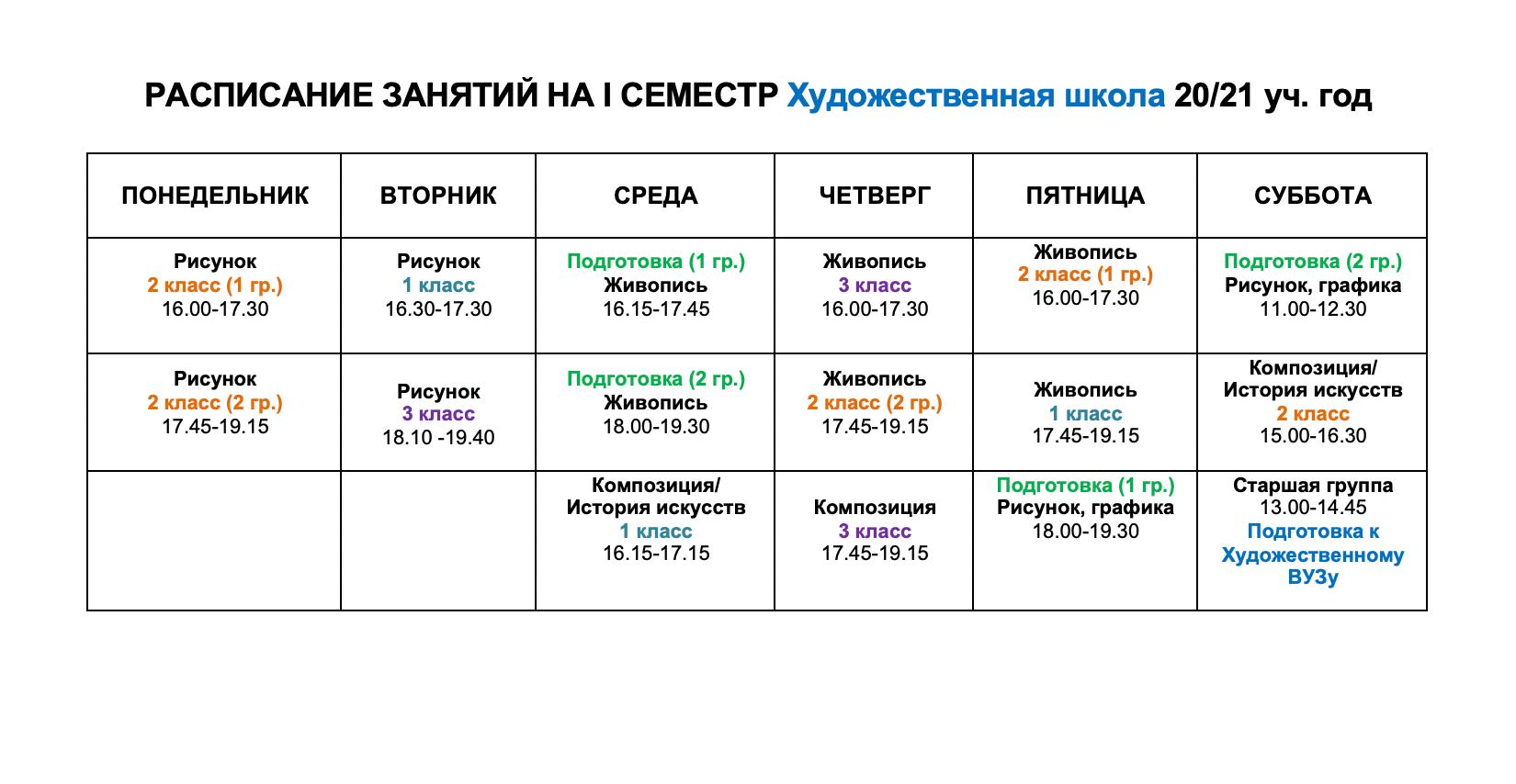Расписание художественная школа.png