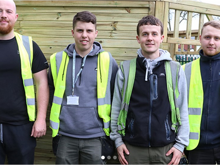 May 2019 Star Apprentice supports Bury College Childcare department.