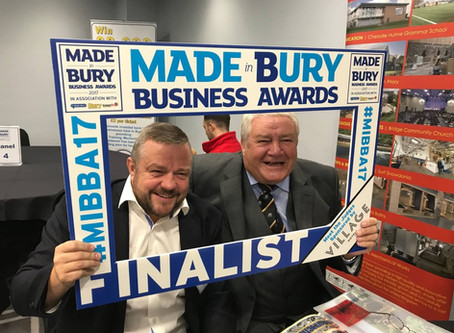 October 2017 - Finalists at the Made in Bury Awards!
