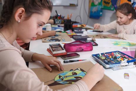 Подготовительное отделение художественной школы