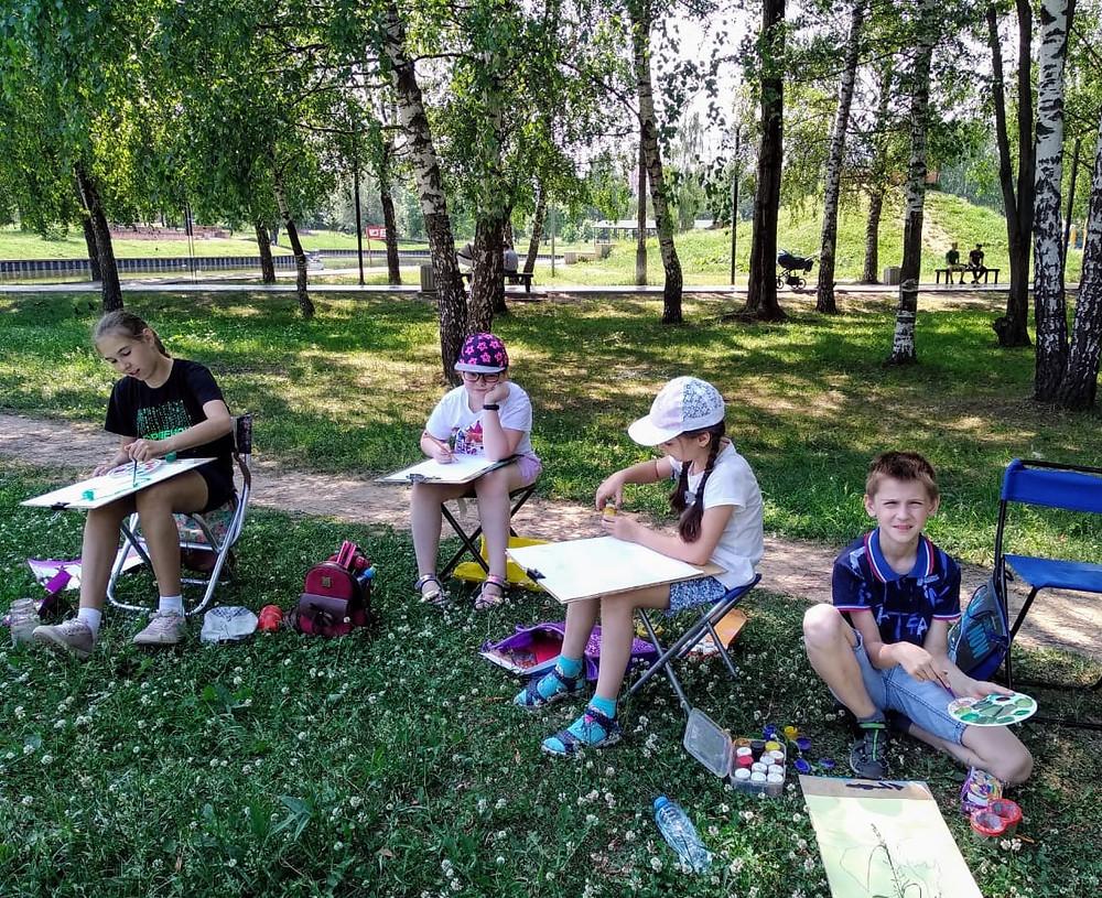 летний творческий лагерь