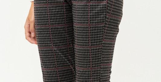 Plaid Pocket Pants
