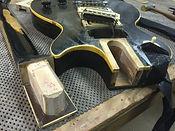 Bruton Guitars, guitar repair, neck reset