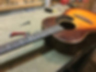 Bruton Guitars, Guitar repair, refret