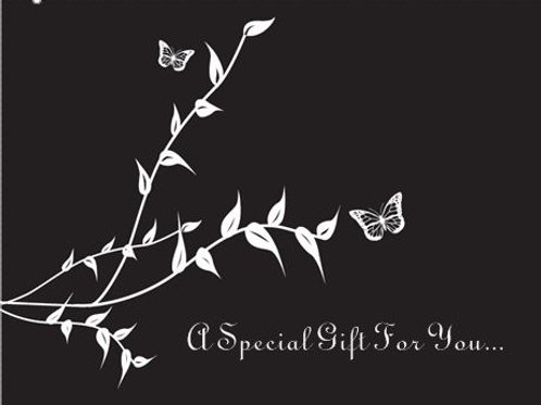 SPECIAL GIFT GREETINGS CARD - OPTION 2