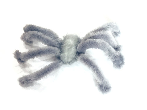 CATNIP SPIDER - LIGHT GREY