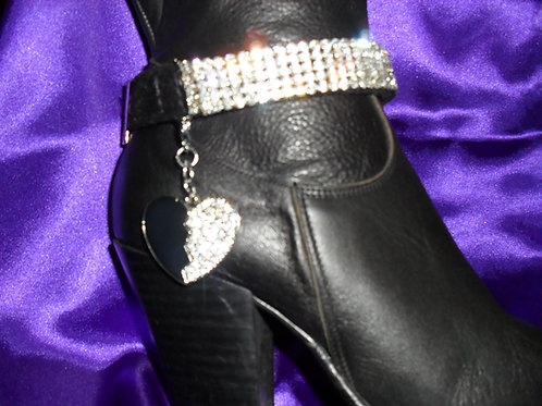 BOOT STRAPS/MAGNETIC CHARM (PAIR)