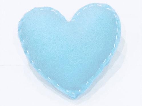ADELPHI CATNIP PILLOW - LIGHT BLUE/WHITE