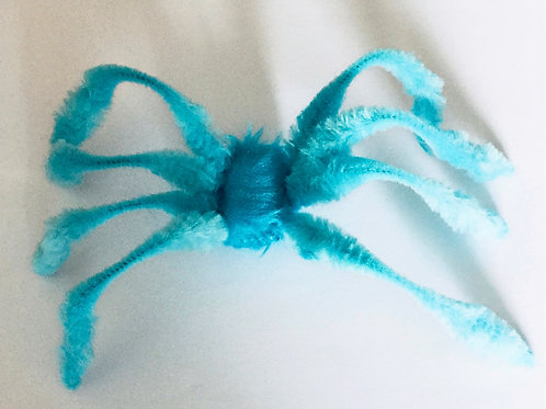 CATNIP SPIDER - TURQUOISE / SHAPED LEGS