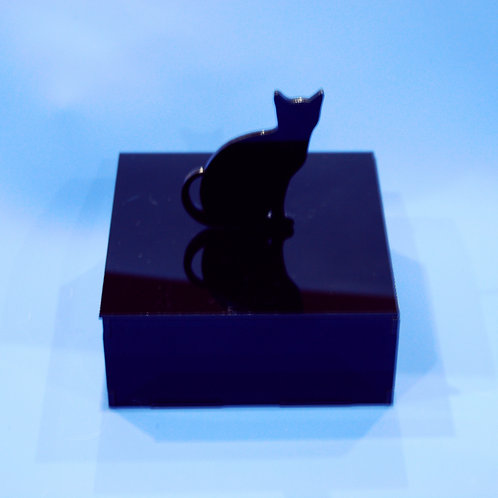 BLACK CAT JEWELLERY BOX