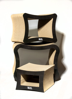 Cat Scratch Furniture | 3 Fat Catss Cubes