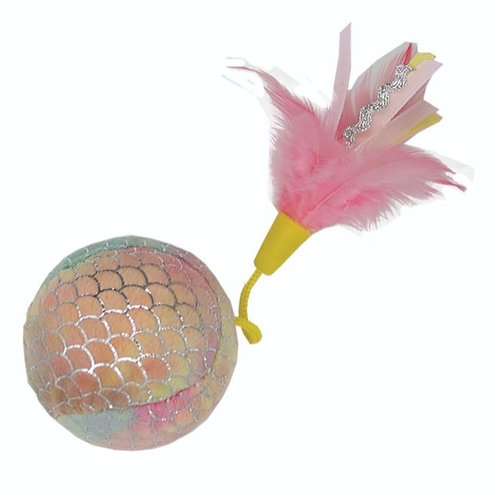 GIANT MERMAID BALL - PINK