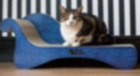 Grumpy Harris Chaise by 3 Fat Cats