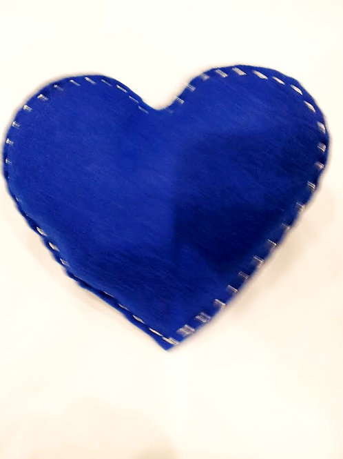 ADELPHI CATNIP PILLOW - ROYAL BLUE/SILVER
