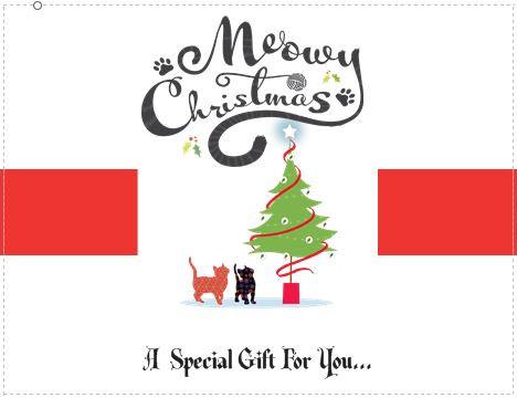 A christmas gift greetings card option 4 christmas gift greeting card m4hsunfo