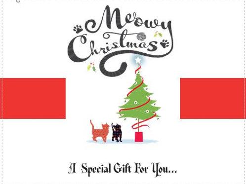 A CHRISTMAS GIFT GREETINGS CARD - OPTION 4