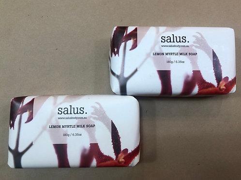 'Salus' Lemon myrtle milk soap