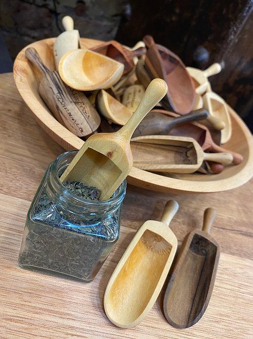 Tasmanian timber scoops - small