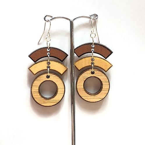 Tasmanian Timber earrings