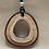 Thumbnail: 'Tassie Dazzle' Wooden pendant
