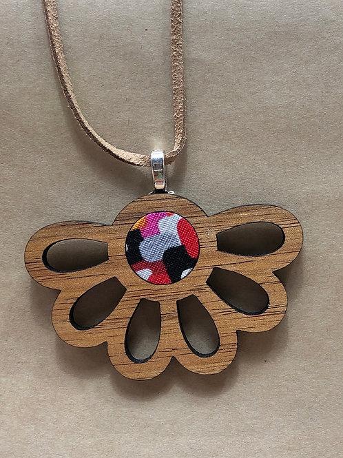 'Tassie Dazzle' Wooden pendant