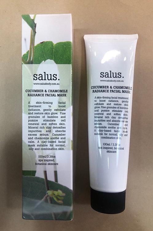 'Salus' Cucumber & chamomile radiance facial mask