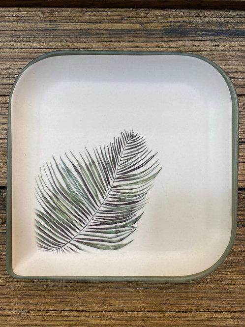 Bamboo fibre side plate