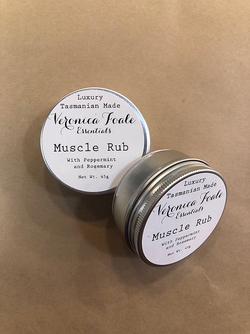 'Veronica Foale' Muscle Rub - With peppermint and rosemary