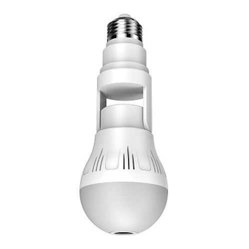 5MP 360° Viewing Angle Bulb Type Indoor Wi-Fi IP Camera