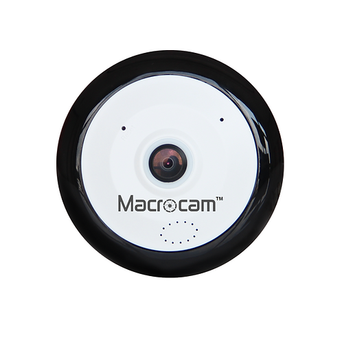 5MP 360° Viewing Angle Small Size Indoor Wi-Fi IP Camera
