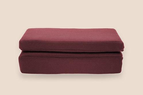 「遠紅外線」椰棕纖維禪坐墊(二折式禪墊)