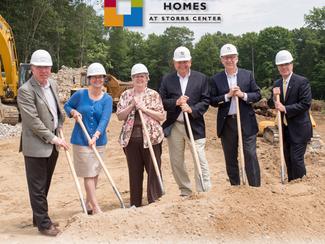 Main Street Homes Construction Begins!