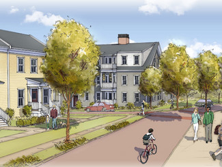 Main Street Homes at Storrs Center to Begin Construction - Fifty Percent of Homes Under Contract