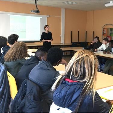 Atelier lycée Rillieux-La-Pape