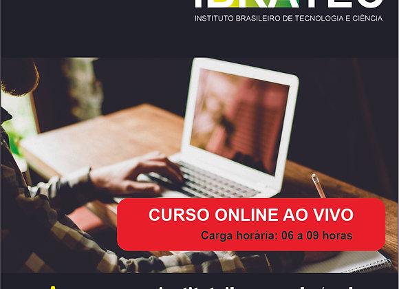 Bolsa de 50% em Curso Online ao vivo de CH entre 06 a 09 horas