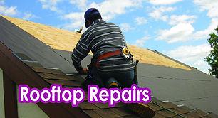 Rooftop Repairs.