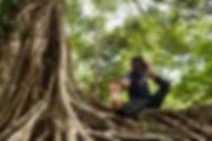 Prasad, yoga instructor at Peacock Studio