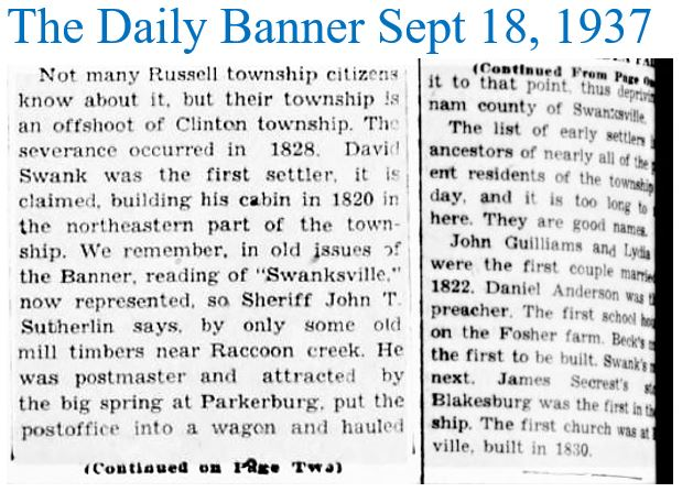 The Daily Banner Sept 18 1937