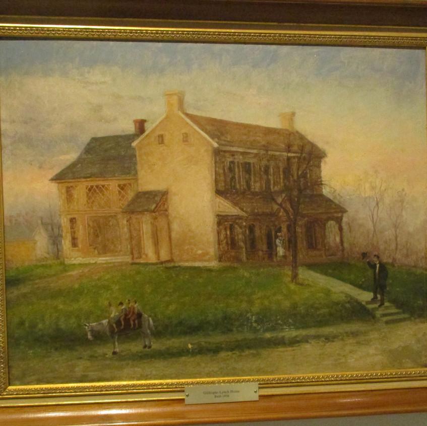 Elisha Cowgill painting Gillespie Lynch