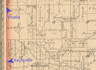 Keytsville in Madison Township
