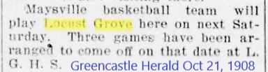 Greencastle Herald 21 Oct 1908