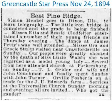 GSP Nov 24 1894 East Pine Ridge