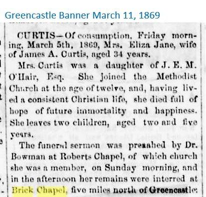 Greencastle Banner March 11, 1869