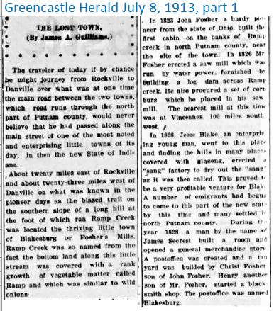 Greencastle Herald July 8 1913 part 1
